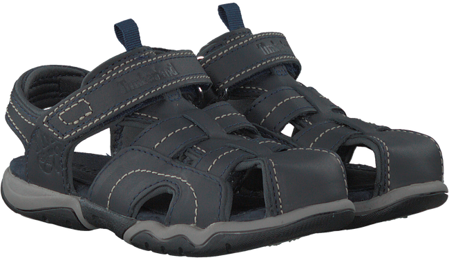 Blaue TIMBERLAND Sandalen OAK BLUFFS LEATHER FISHERMAN - large