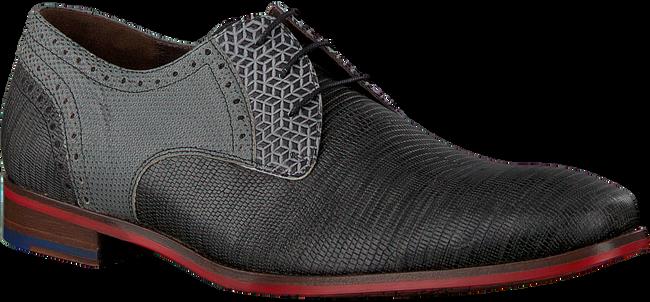 Grüne FLORIS VAN BOMMEL Business Schuhe 18107  - large