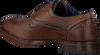 Cognacfarbene OMODA Business Schuhe 735-A - small