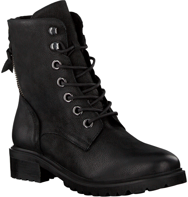Schwarze OMODA Schnürboots LALA LACE BOOT - large