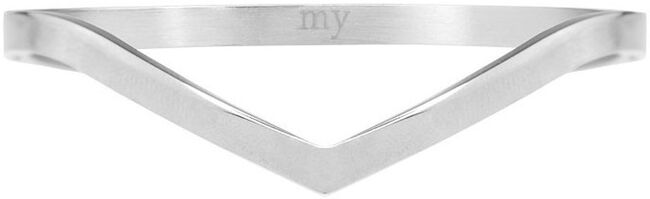 Silberne MY JEWELLERY Armband V BANGLE - large