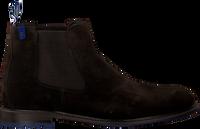 Braune FLORIS VAN BOMMEL Chelsea Boots 10902  - medium