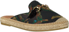 Schwarze KANNA Espadrilles KV7584 - small