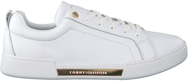 Weiße TOMMY HILFIGER Sneaker low BRANDED OUTSOLE METALLIC  - large