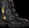 Schwarze BRAQEEZ Ankle Boots TIRZA TONE - small