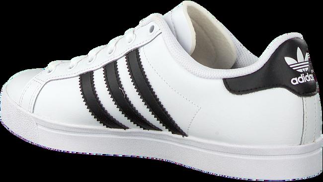 Weiße ADIDAS Sneaker low COAST STAR J  - large