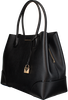 Schwarze MICHAEL KORS Handtasche LG CENTER ZIP TOTE - small