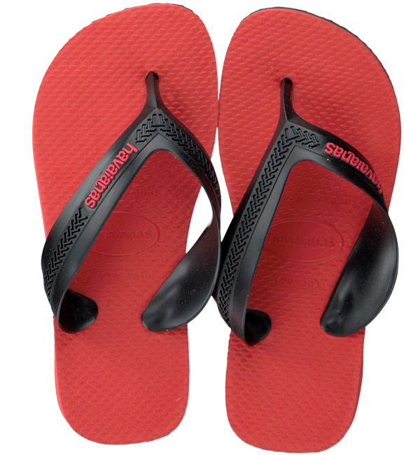 Rote HAVAIANAS Zehentrenner KIDS MAX TREND  - large