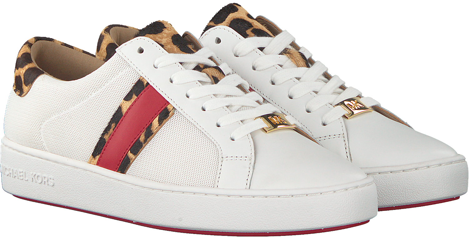 Weiße MICHAEL KORS Sneaker IRVING STRIPE LACE UP | Omoda.at