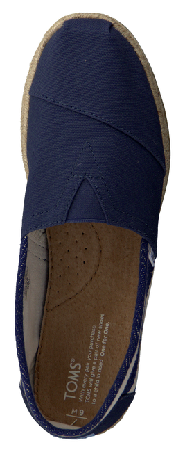 Blaue TOMS Slipper CLASSIC HEREN - large
