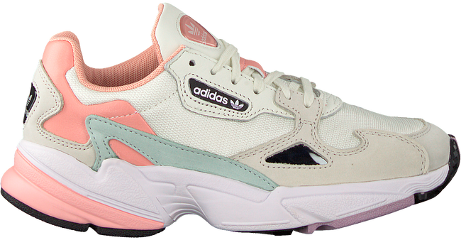 Weiße ADIDAS Sneaker FALCON WMN  - large