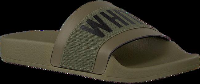 Grüne THE WHITE BRAND Pantolette ELASTIC MINIMAL KIDS - large