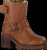 Cognacfarbene VERTON Biker Boots PARIJS  - small