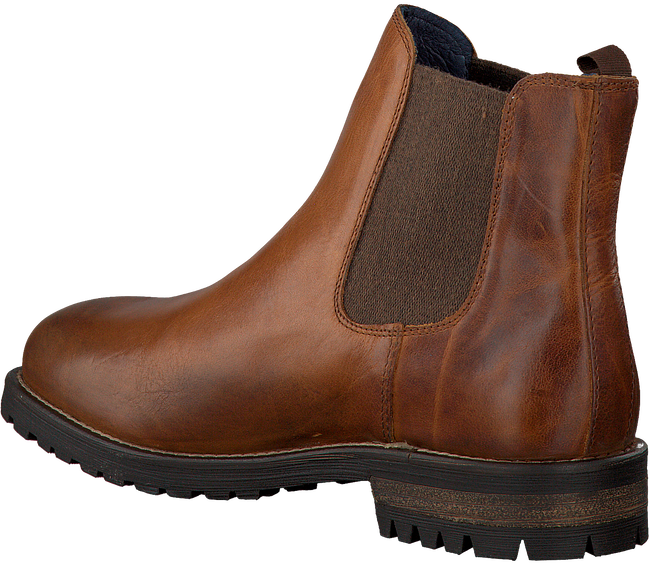 Cognacfarbene OMODA Chelsea Boots 80076 - large