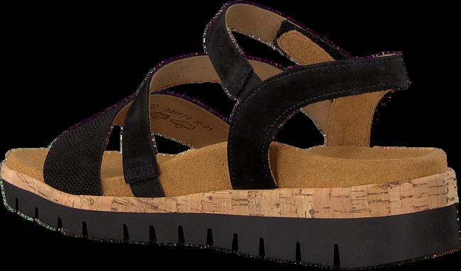Schwarze GABOR Sandalen 875  - large
