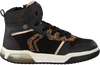 Schwarze GEOX Sneaker J94ASA  - small