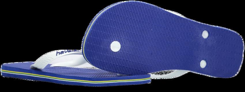 Blaue HAVAIANAS Zehentrenner BRASIL LOGO - larger
