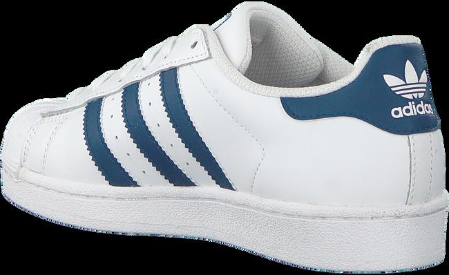 Weiße ADIDAS Sneaker SUPERSTAR J  - large