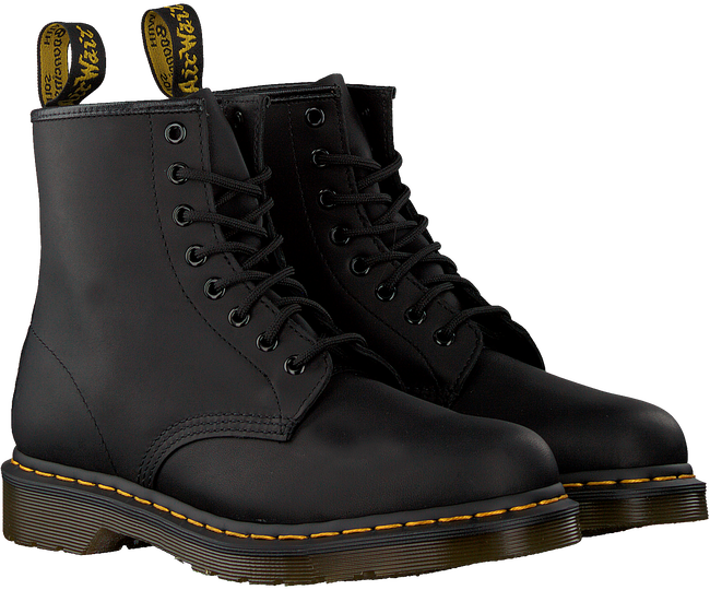 Schwarze DR MARTENS Ankle Boots 1460 - large