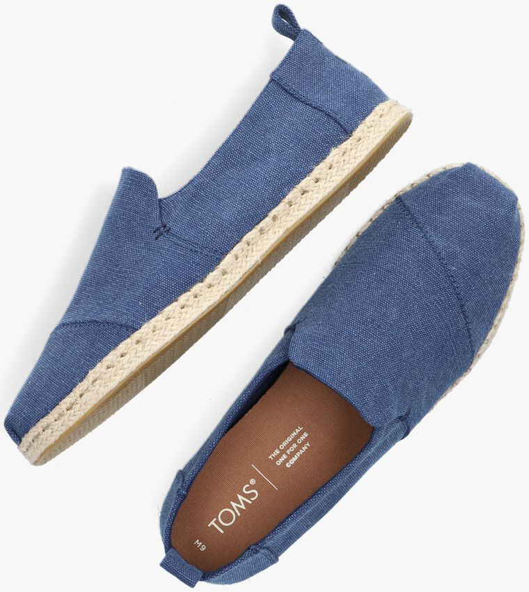 Blaue TOMS Espadrilles DECONSTRUTED ALPARGATA ROPE M - larger
