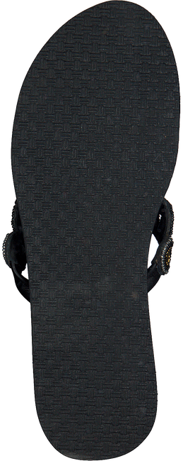 Schwarze OMODA KUBUNI Zehentrenner SLIPPER FANTASY - large