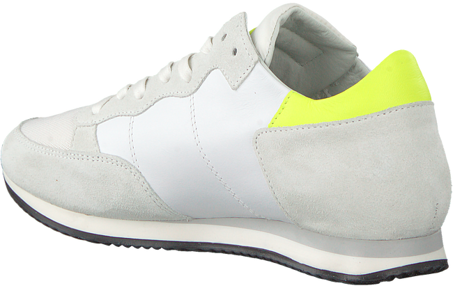 Weiße PHILIPPE MODEL Sneaker TROPEZ NEON  - large