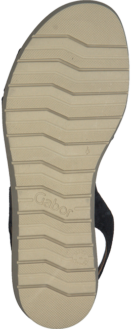 Schwarze GABOR Sandalen 501.1 - large