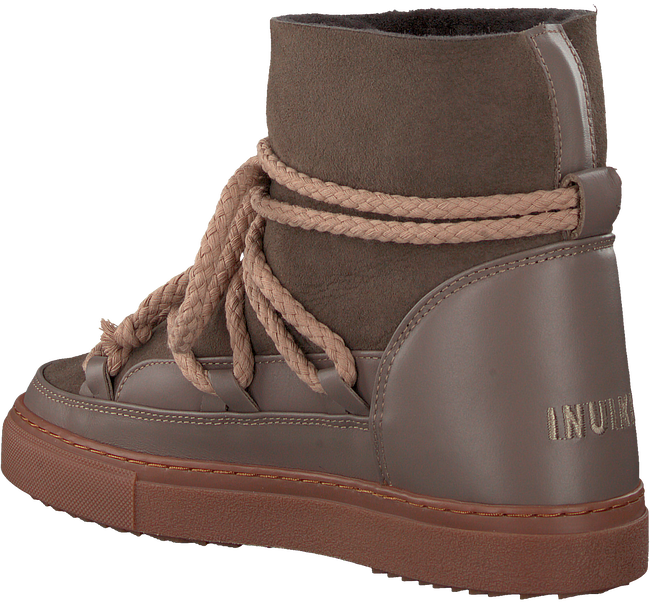 Taupe INUIKII Ankle Boots CLASSIC  - large