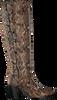 Braune VIA VAI Hohe Stiefel BLAKE  - small