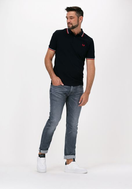 Dunkelblau FRED PERRY Polo-Shirt TWIN TIPPED PRED PERRY SHIRT  - large