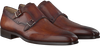 Cognacfarbene MAGNANNI Business Schuhe 18724 - small