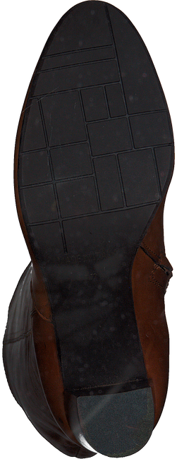 Cognacfarbene NOTRE-V Hohe Stiefel AH201  - large