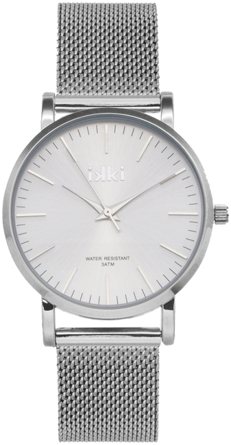 Silberne IKKI Uhr FLORENCE - large