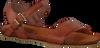 Cognacfarbene RED RAG Sandalen 79122 - small
