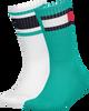 Grüne TOMMY HILFIGER Socken TH KIDS FLAG 2P  - small