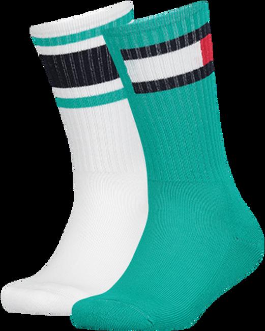 Grüne TOMMY HILFIGER Socken TH KIDS FLAG 2P  - large