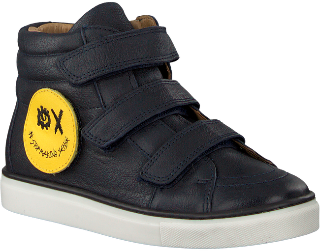 Blaue SVNTY Sneaker SMILEY - large
