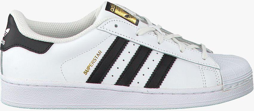 Weiße ADIDAS Sneaker SUPERSTAR C - larger