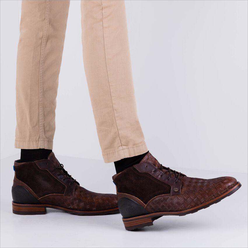 Braune REHAB Business Schuhe LENNON KRIS KROS  - larger