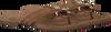 brown LAZAMANI shoe 75.573  - small