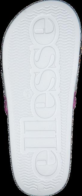 Weiße ELLESSE Pantolette BORGARO TEXT AF - large