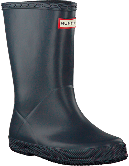 Blaue HUNTER Gummistiefel KIDS FIRST CLASSIC - large