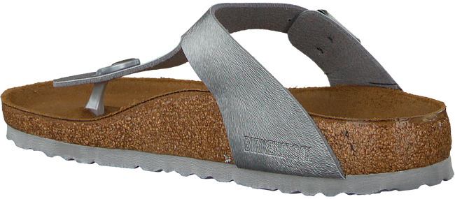 Grauen BIRKENSTOCK PAPILLIO Slipper GIZEH ANIMAL FASCINATION  - large