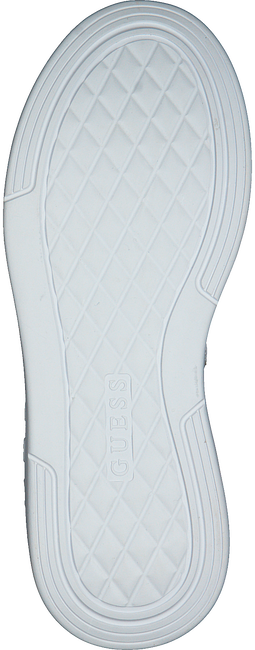 Weiße GUESS Sneaker low SAUCEY  - large