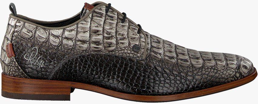 Graue REHAB Business Schuhe GREG CROCO  - larger