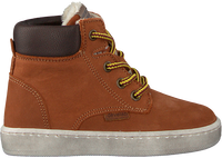 Cognacfarbene DEVELAB Sneaker high 41855  - medium
