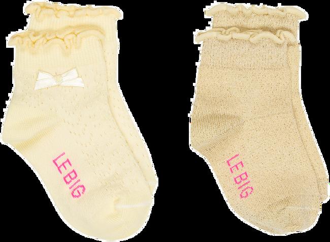 Gelbe LE BIG Socken MIA SOCK  - large