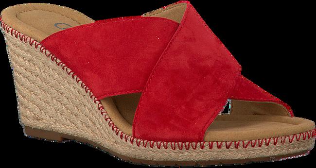 Rote GABOR Pantolette 829 - large