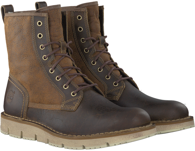 Braune TIMBERLAND Ankle Boots WESTMORE SHEARLING BOOT - large