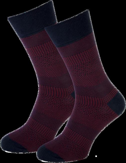 Rote MARCMARCS Socken RED NEW YORK - large